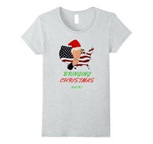 Donald Trump xmas Tshirt
