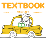 textbook Cash Cab logo